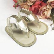 Sandália Dourada