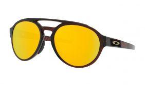 Óculos Oakley Forager Rootber Prizm 24k Polarizada