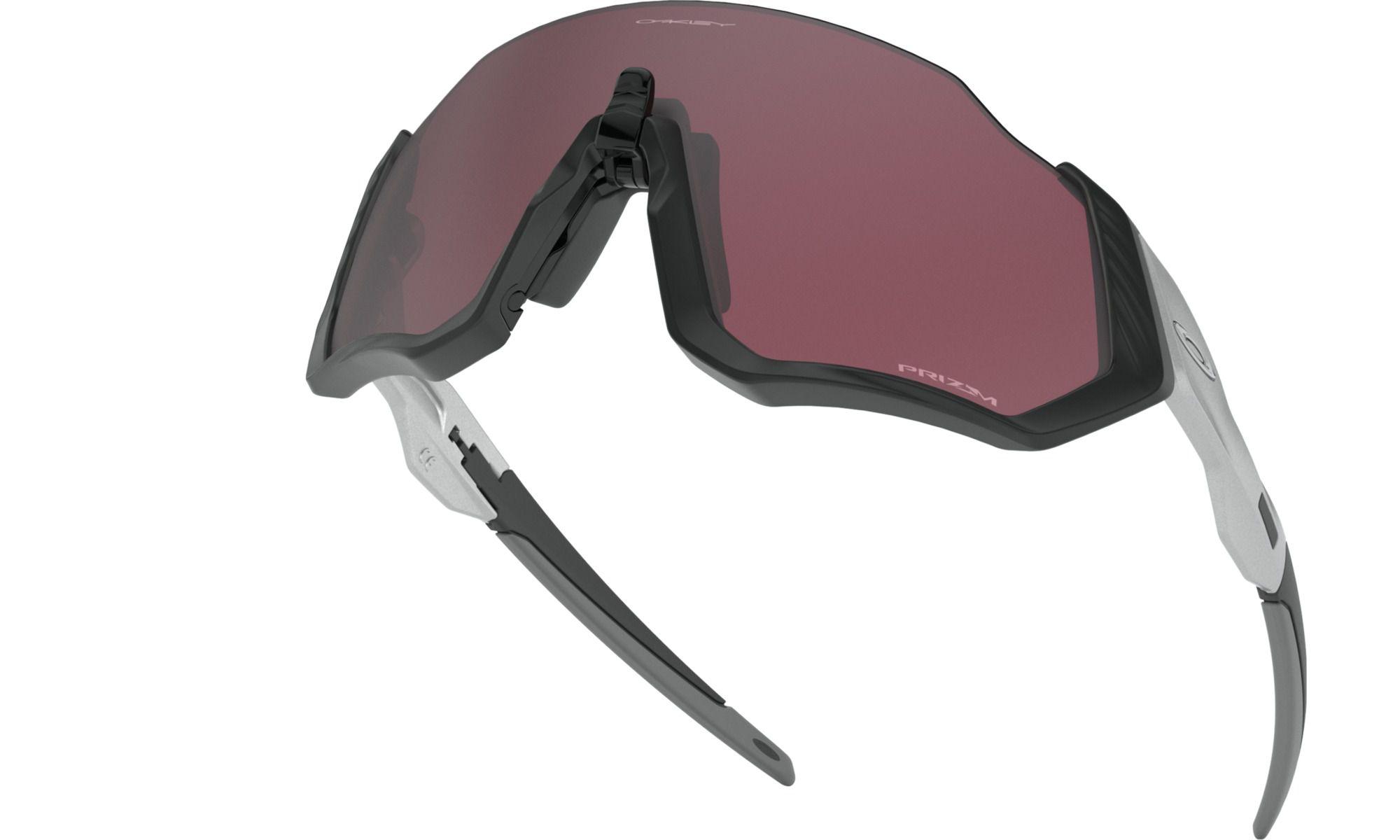 Óculos Flight Jacket Black/Silver Prizm Road Black