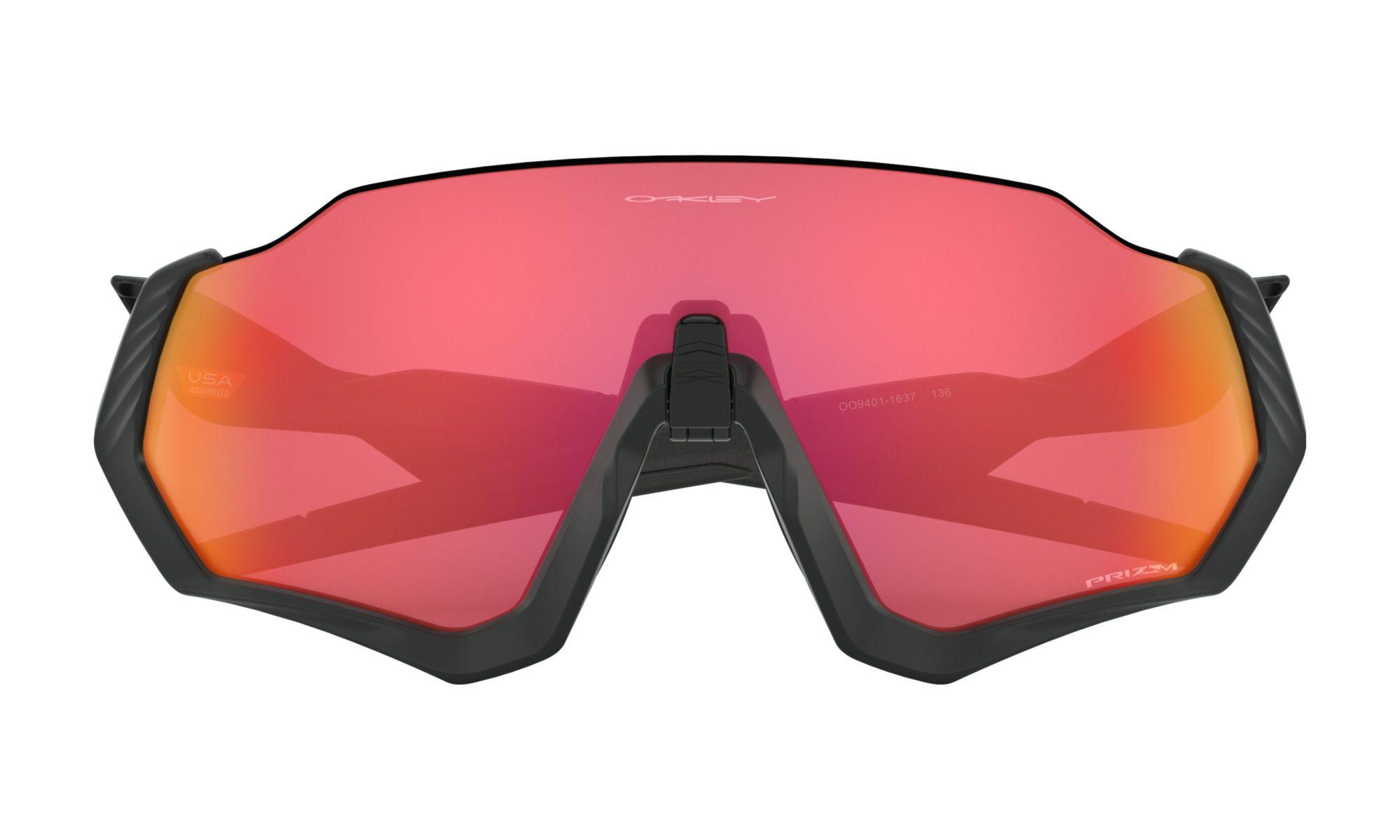 Óculos Flight Jacket Matte Black Prizm Trail Torch