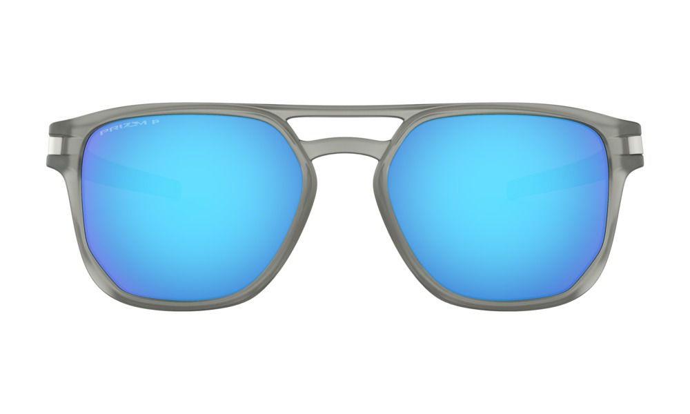 Óculos Oakley Latch Beta Cinza Translucido Prizm