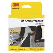Fita Antiderrapante 3M Safety-Walk Preta 50mm x 5m