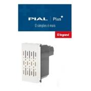 Pial Plus + Campainha Cigarra 127V Branca