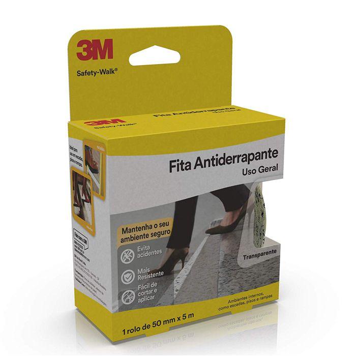 Fita Antiderrapante 3M Safety-Walk Transparente - 50mm x 5m