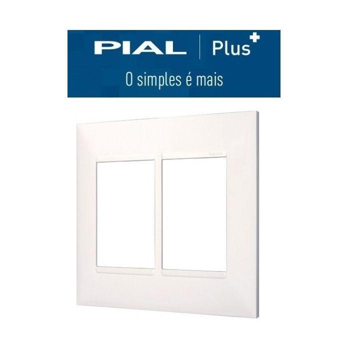 Placa 4x4  6 Interruptores Pial Plus +