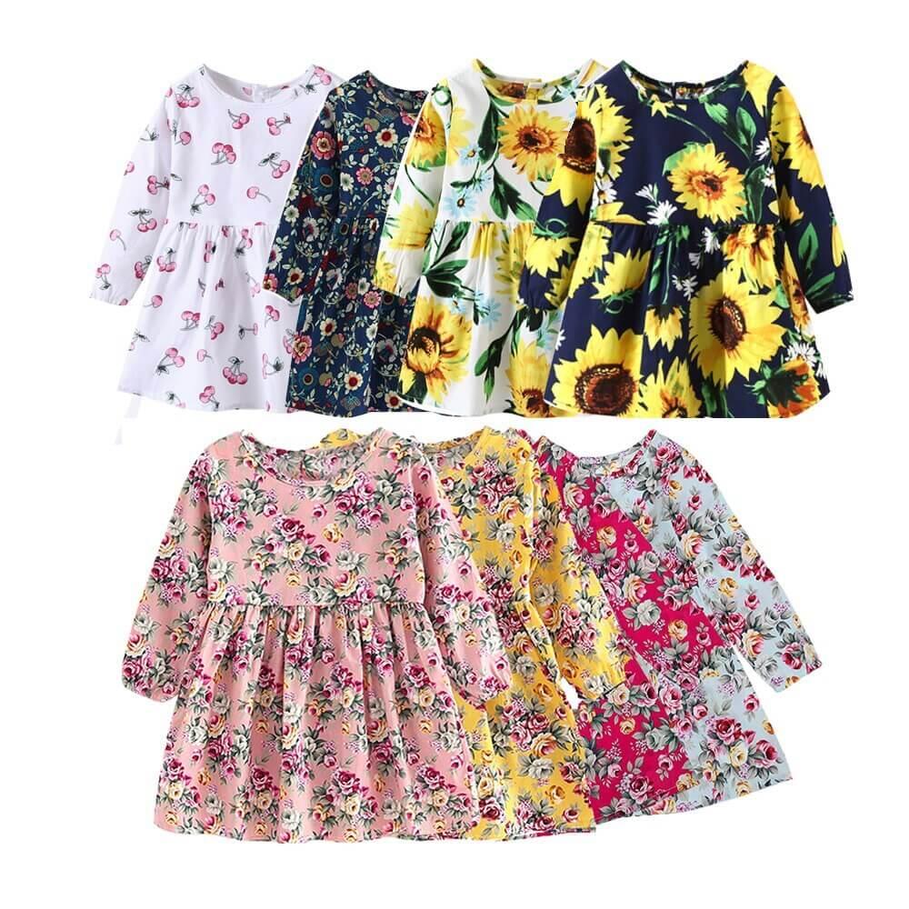 Kit Vestidos Primavera com 7