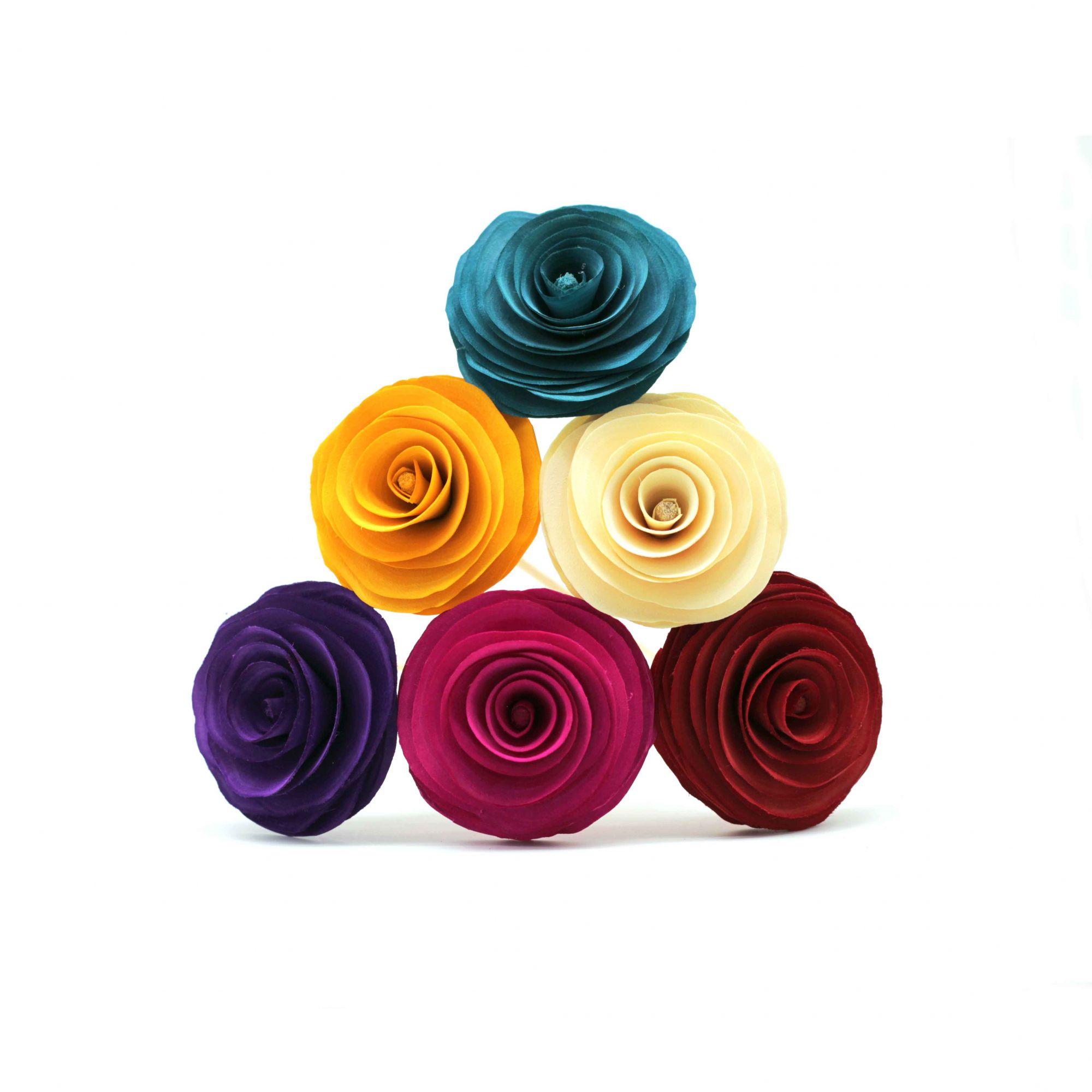 Flor para difusor de aromas