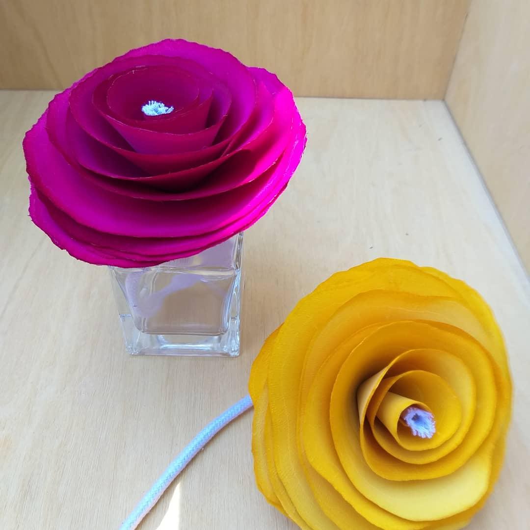 Flor para difusor pavio
