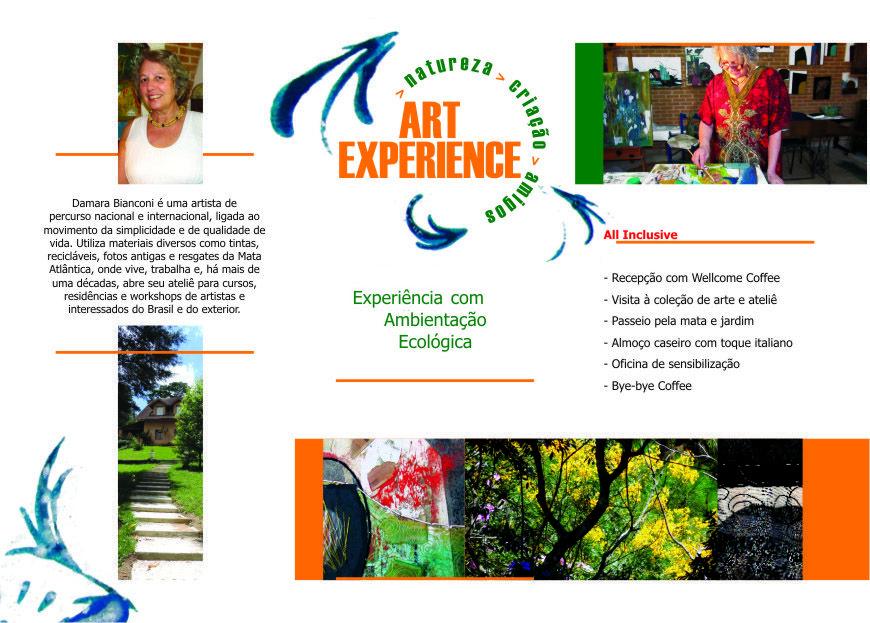Experiência Artística Sensorial