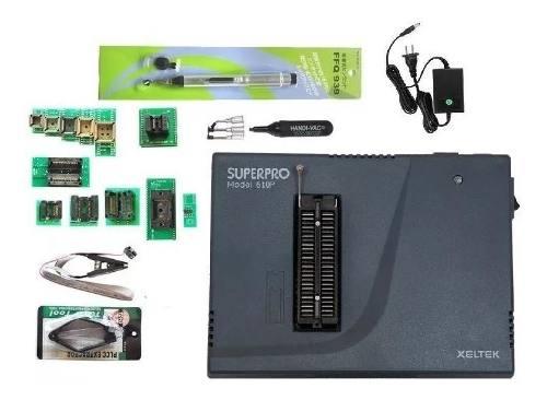 Xeltek Superpro 610p Gravador Programador Eprom 48 Pinos