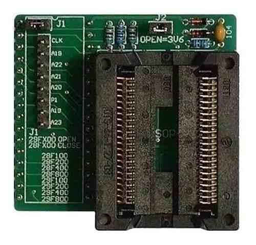 Adaptador Eprom Psop44 Dip32 Willem Gq-4x Ecu 29f400 Gq4x