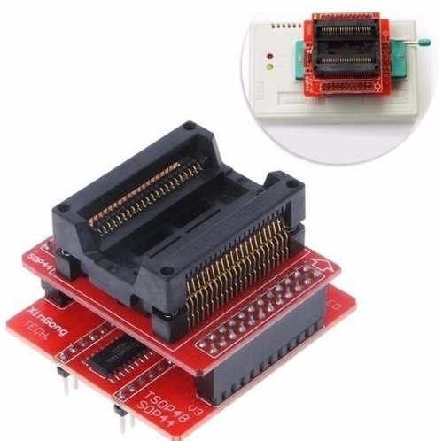 Adaptador PSOP44 Eprom Tl866cs Tl866ii plus Tl866  Am29f200 Ecu Automotivo