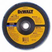 Disco Flap 7'' 120G – DW8325-AR – DeWalt
