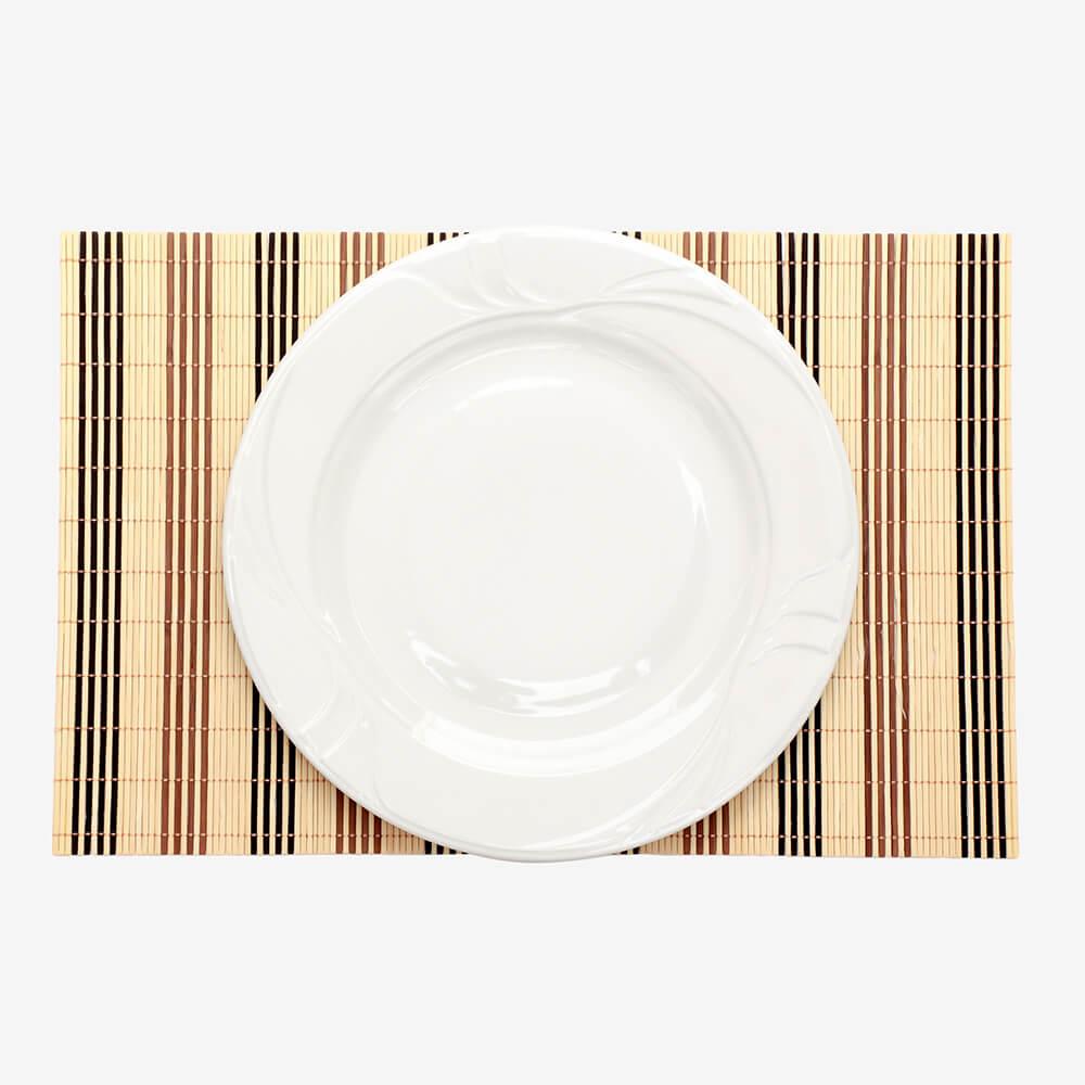 Prato Raso Branco De Porcelana 30cm - Home Collection