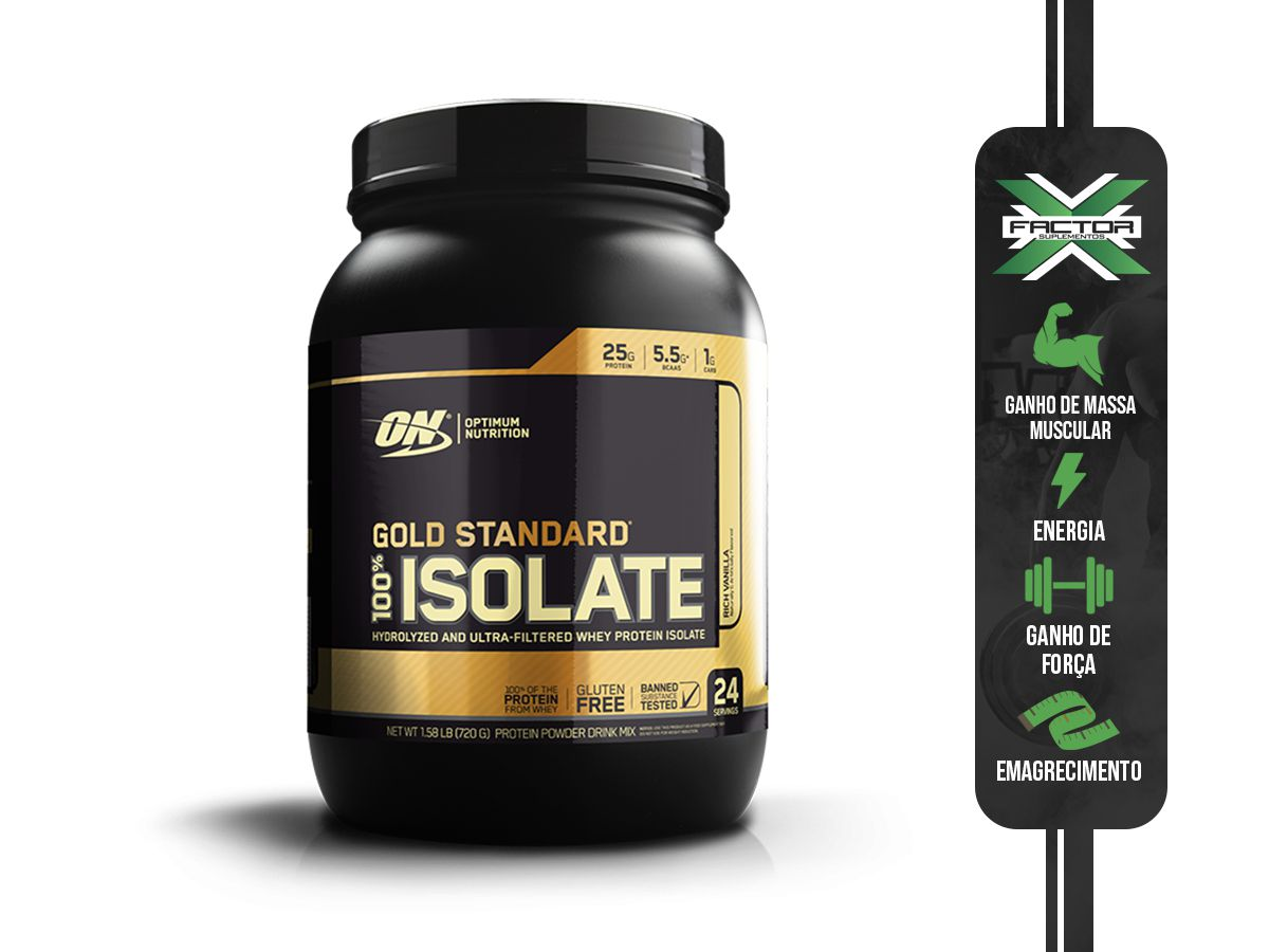 100% WHEY GOLD ISOLATE (1.58LBS/720G) OPTIMUM NUTRITION