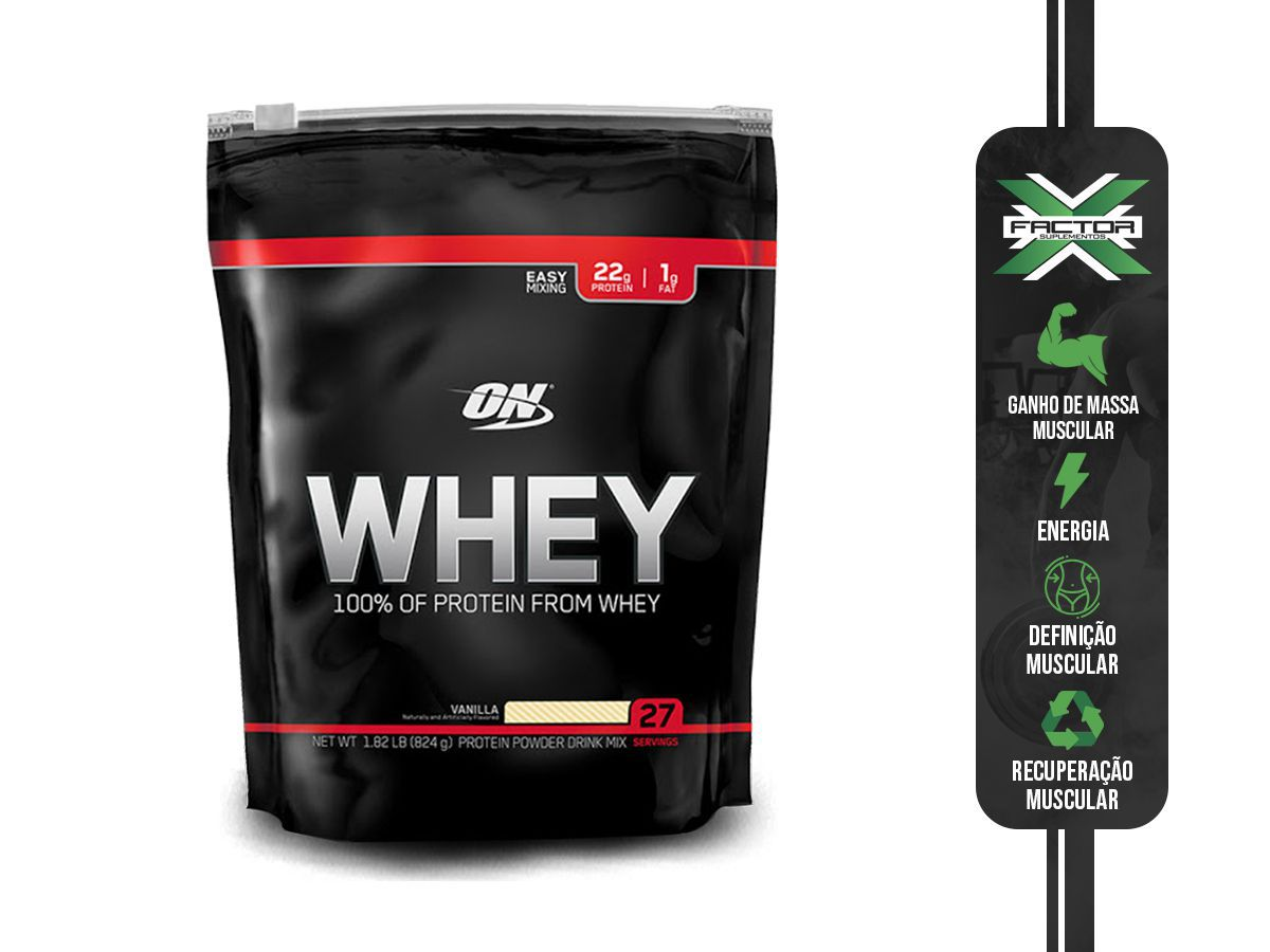 100% WHEY PROTEIN (825G) OPTIMUM NUTRITION