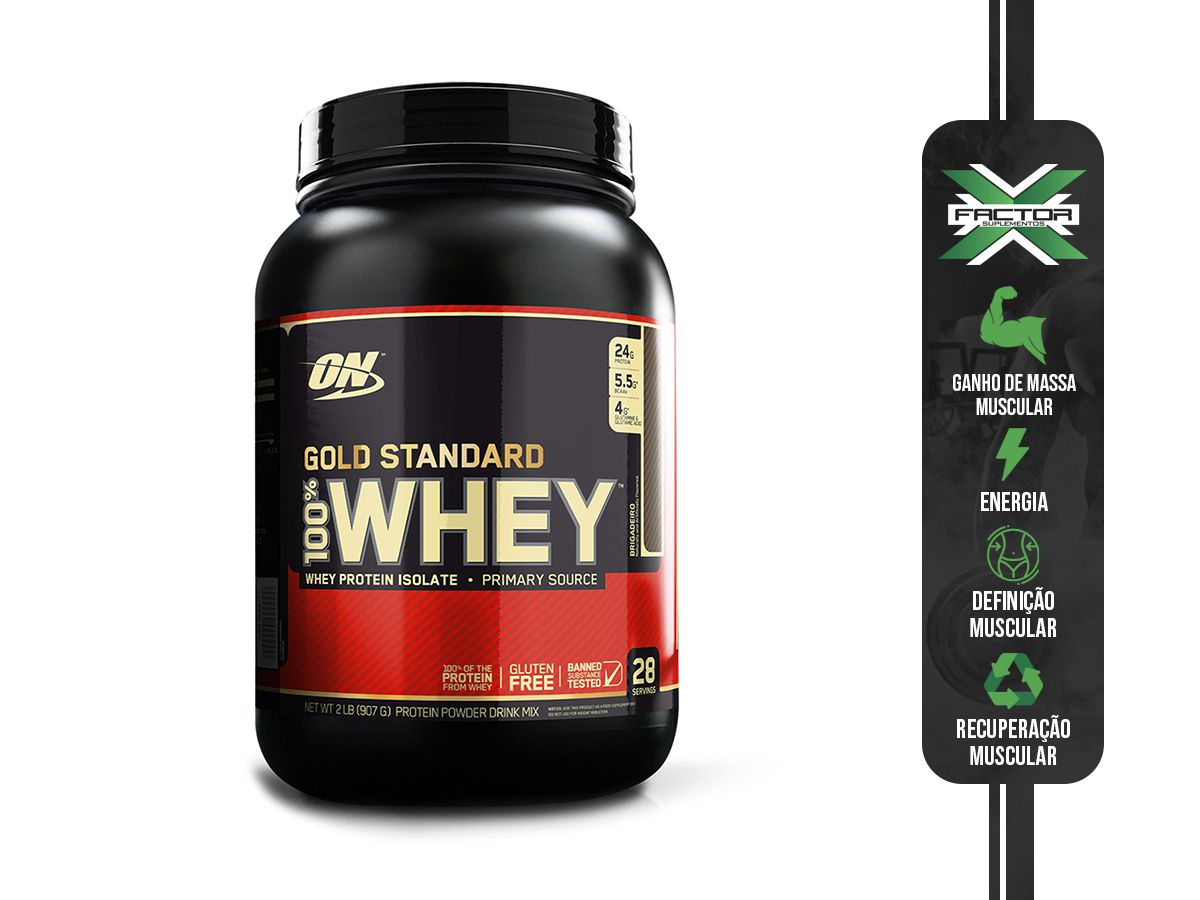 100% WHEY PROTEIN GOLD (907G) OPTIMUM NUTRITION