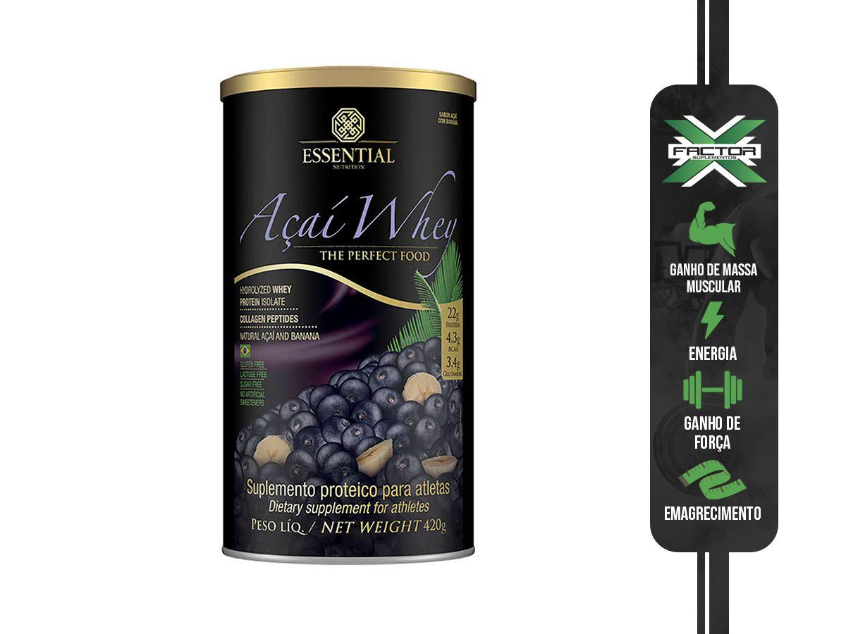 AÇAI WHEY (420G) ESSENTIAL NUTRITION