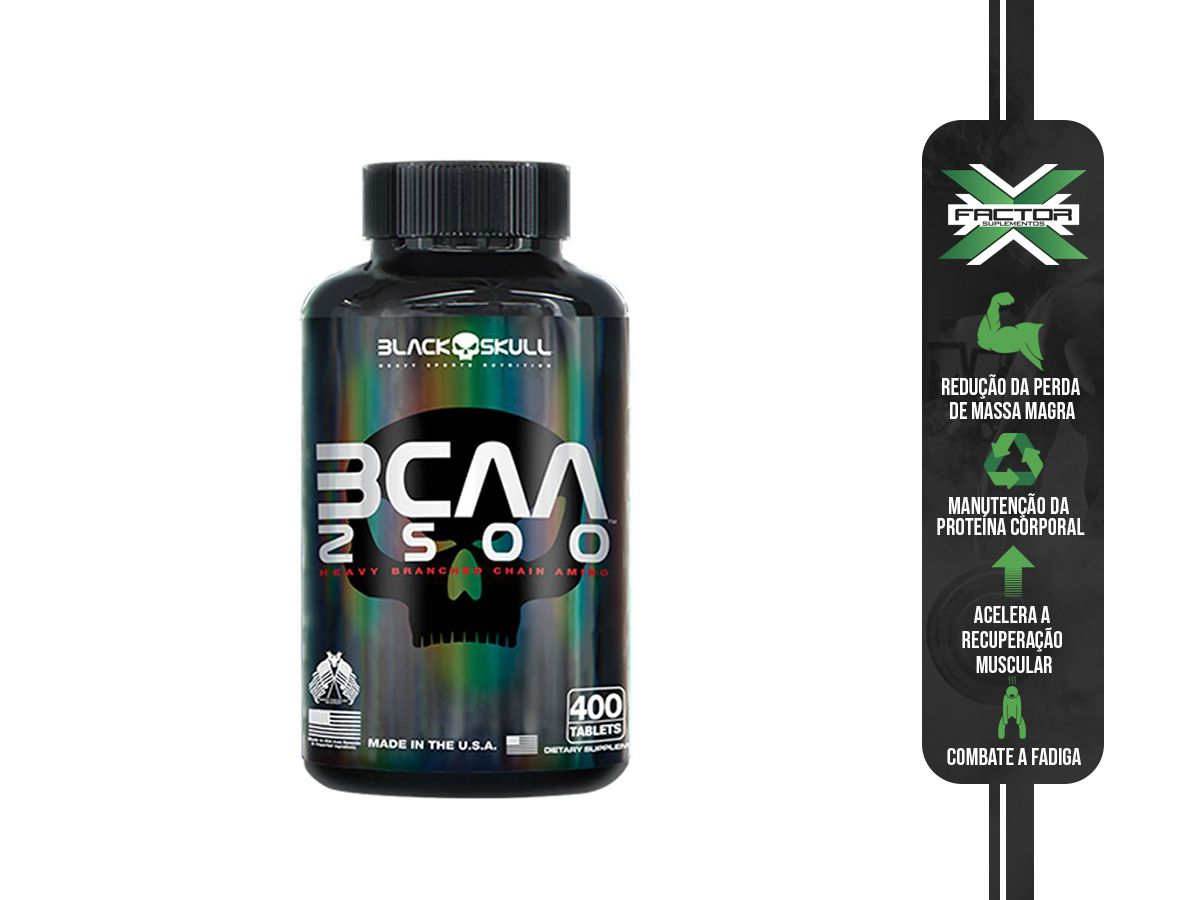 BCAA 2500 (400TABS) - BLACK SKULL