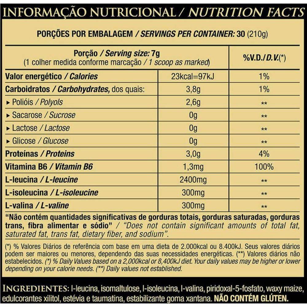 BCAA LIFT 8:1:1 NEUTRO (210G) ESSENTIAL NUTRITION