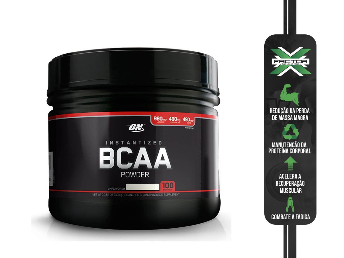 BCAA POWDER (300G) BLACK LINE OPTIMUM NUTRITION