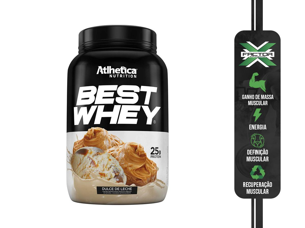 BEST WHEY (900G) ATLHETICA NUTRITION