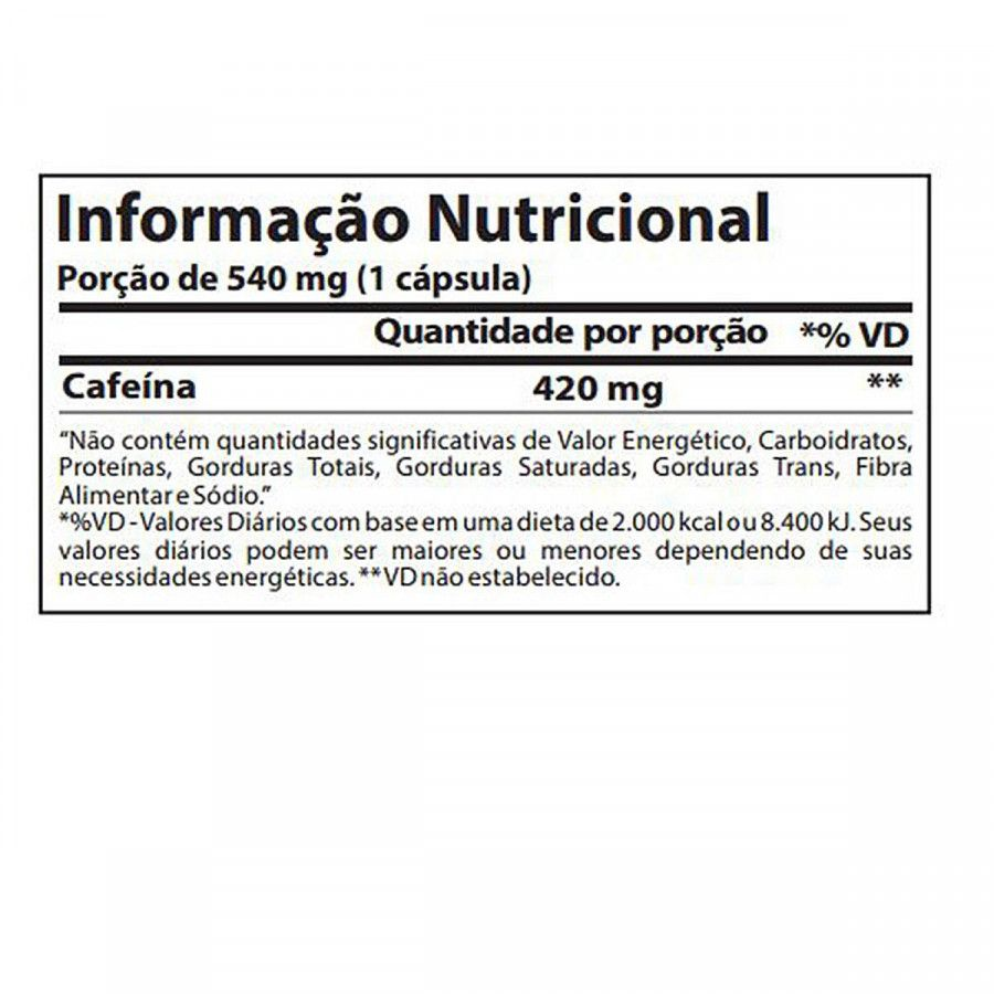 CAFFEINEX 420mg  (90CAPS) ATLHETICA NUTRITION