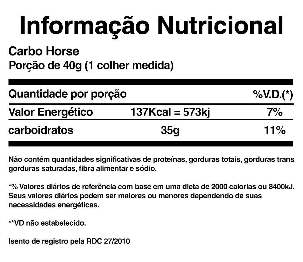 CARBO HORSE REFIL (1KG) - BLACK SKULL -