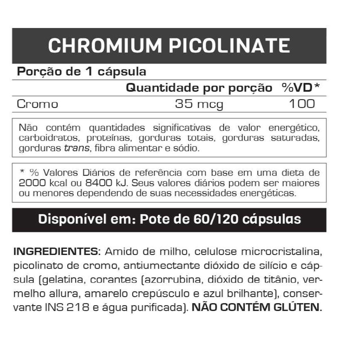 CHROMIUM PICOLINATE (120CAPS) MAX TITANIUM