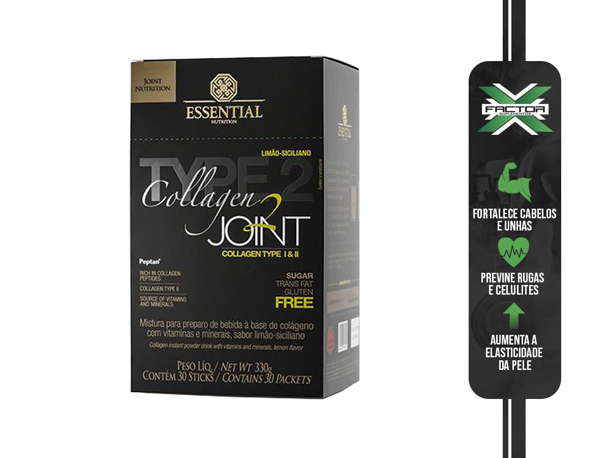 COLLAGEN 2 JOINT (30 STICKS-11G) ESSENTIAL NUTRITION