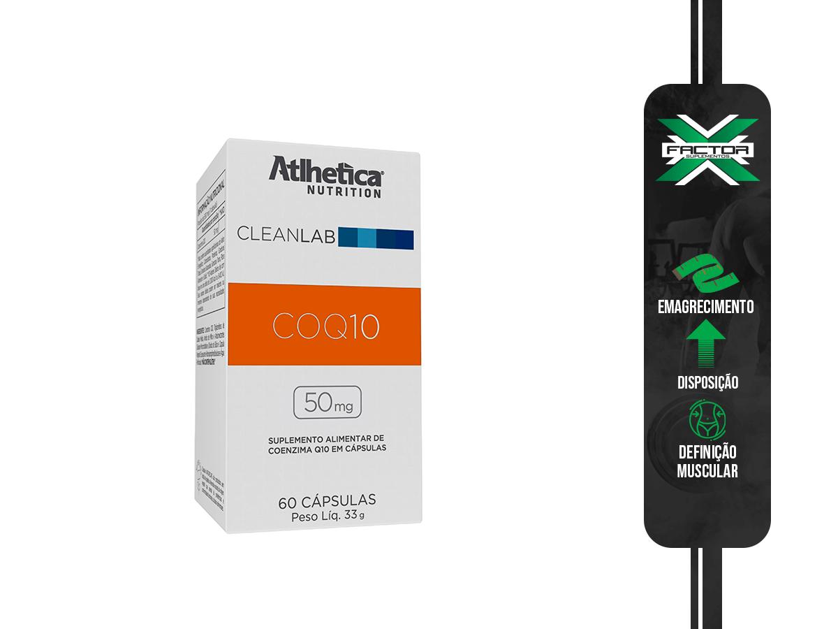 COQ10 50MG (60CAPS) ATLHETICA