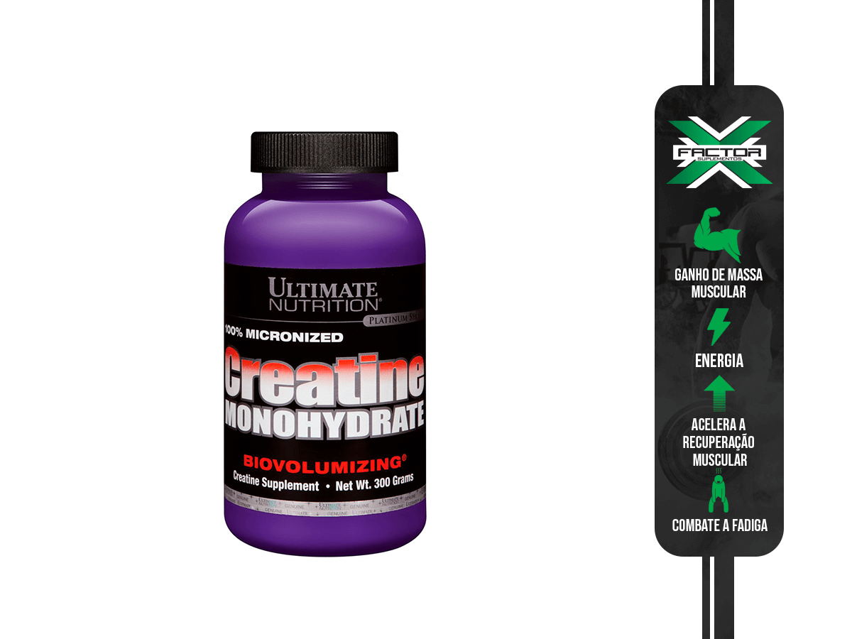 CREATINE 300G ULTIMATE NUTRITION