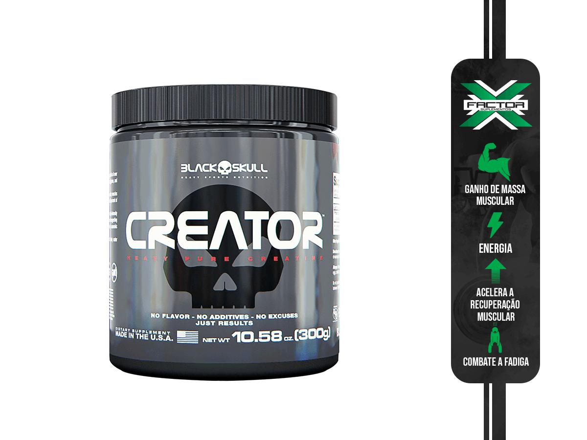 CREATOR 300G BLACK SKULL