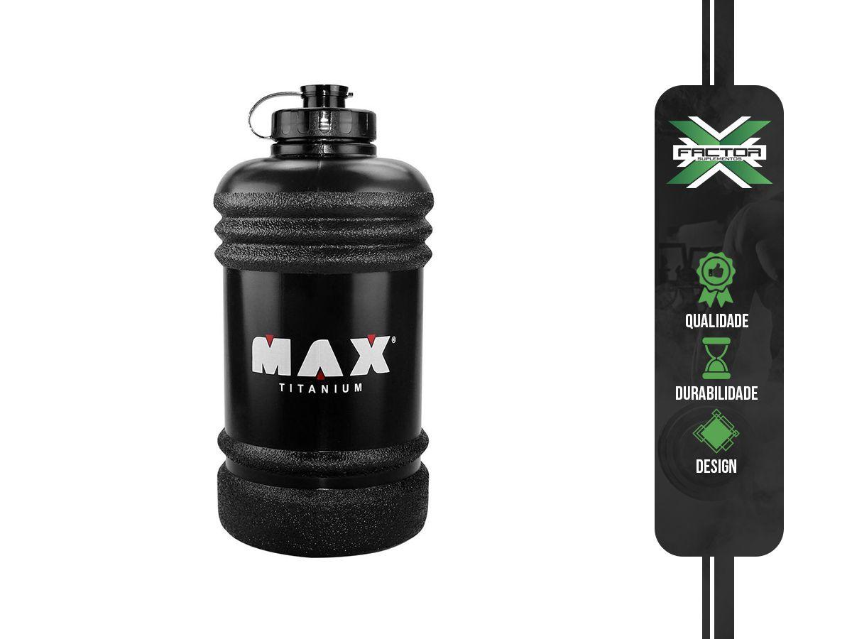 GALÃO PRETO (2,2 litros) - MAX TITANIUM