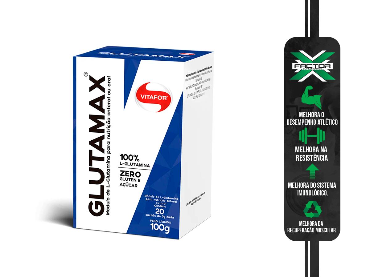 GLUTAMAX 20 SACHES 5G VITAFOR