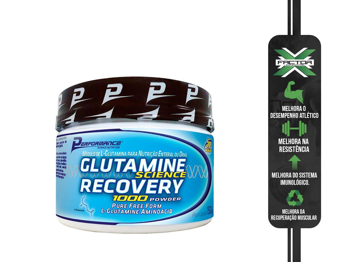 GLUTAMINA 1000 POWDER 150g PERFORMANCE NUTRITION