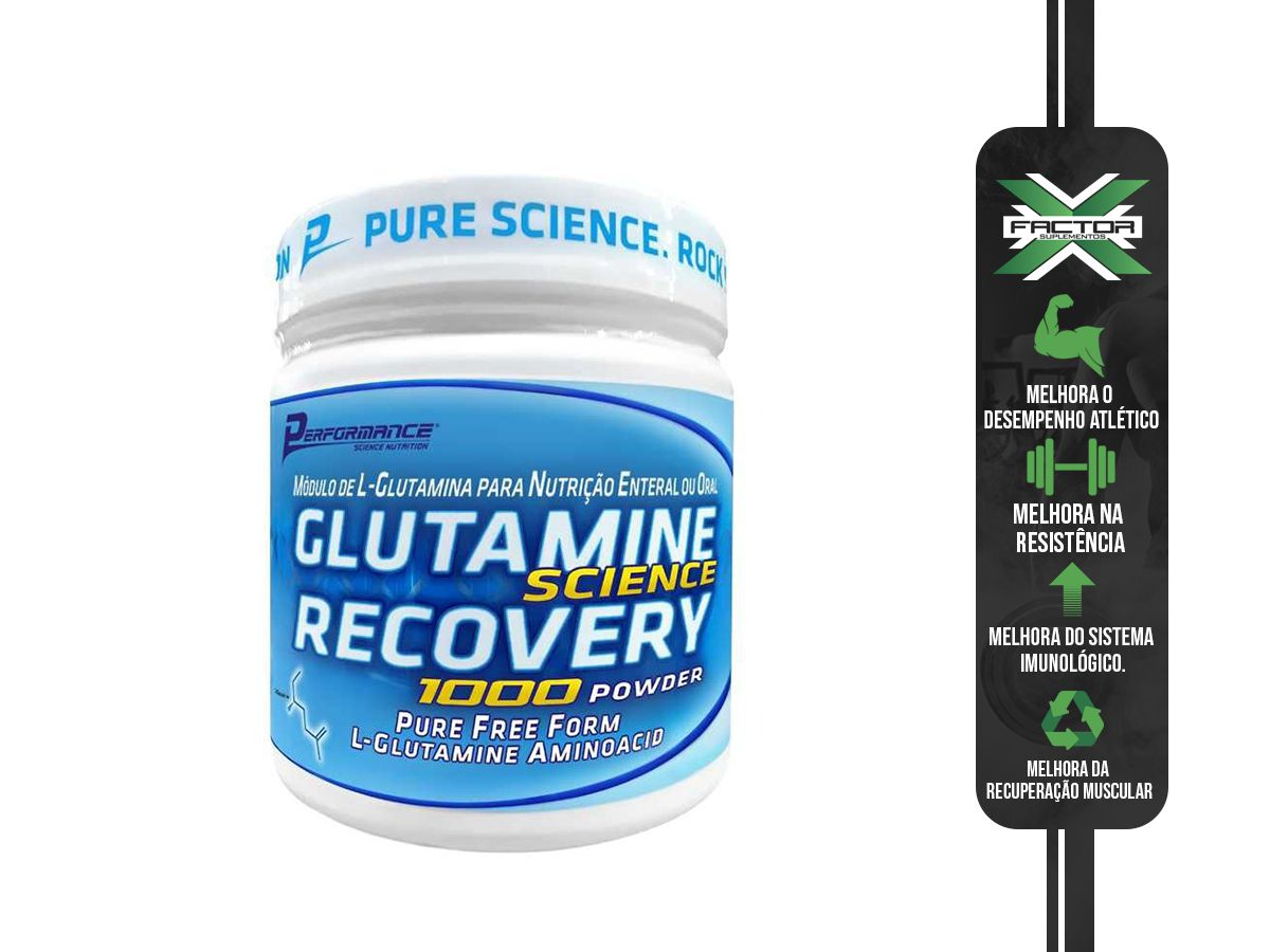 Glutamina 1000 Powder 300g Performance Nutrition