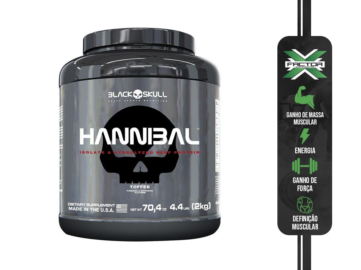HANNIBAL (2KG) - BLACK SKULL