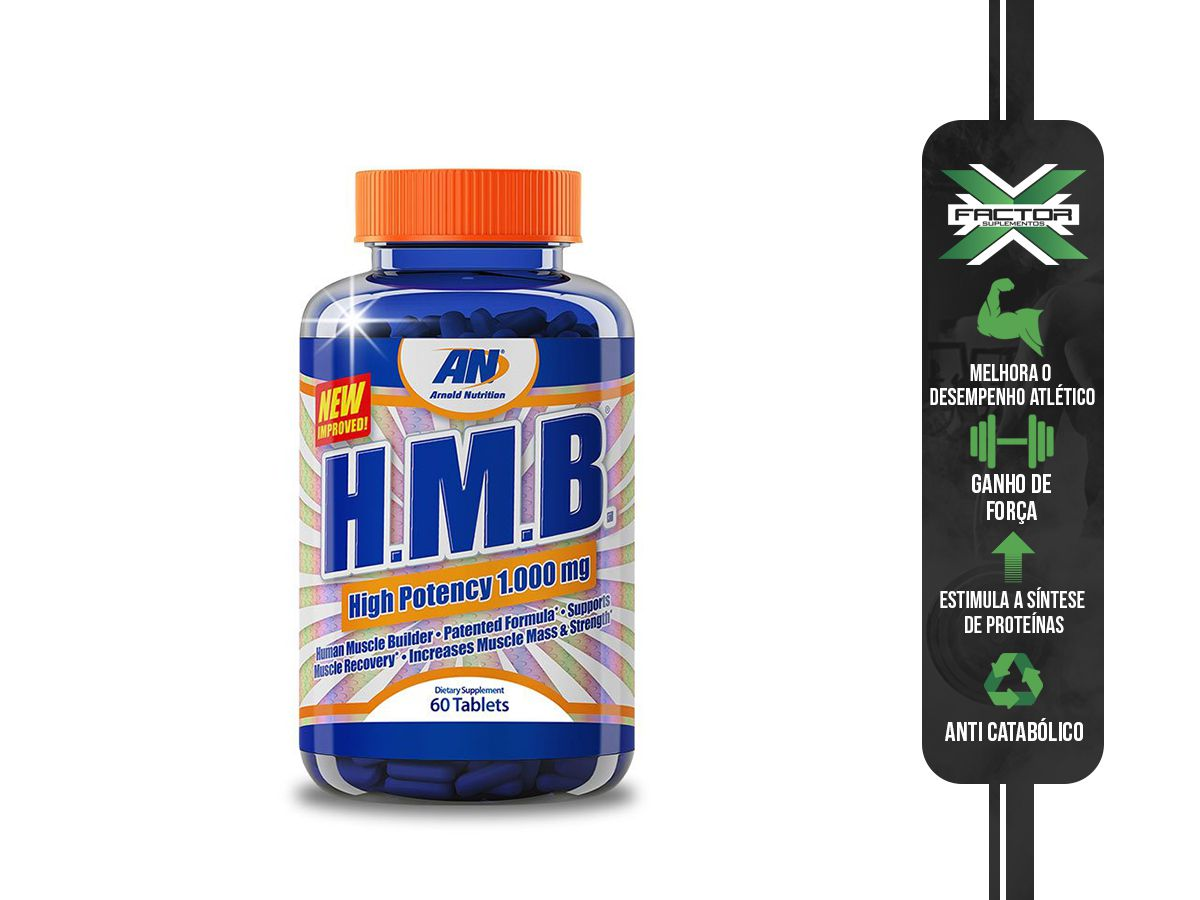 HMB (1000MG-60TABS) ARNOLD NUTRITION