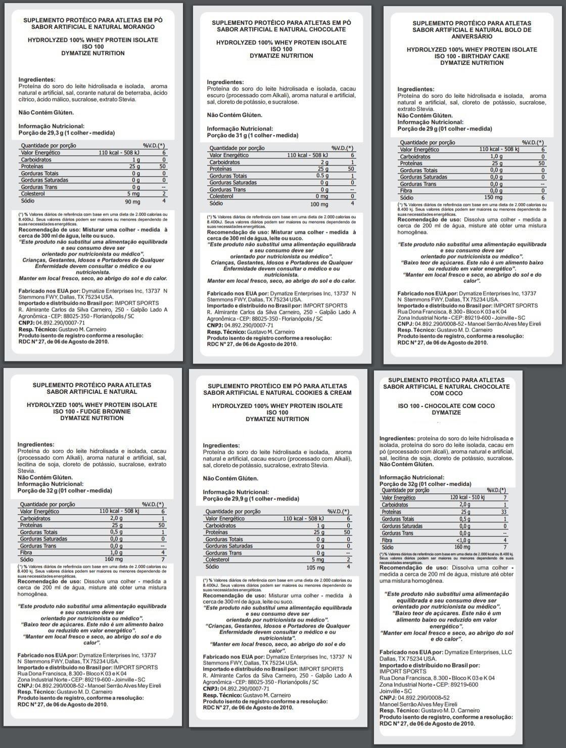 ISO 100 - 100% HIDROLYZED (1362G) DYMATIZE