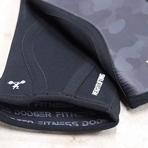 Joelheira Crossfit Dodger 7mm tamanho M  -  Grey Camo