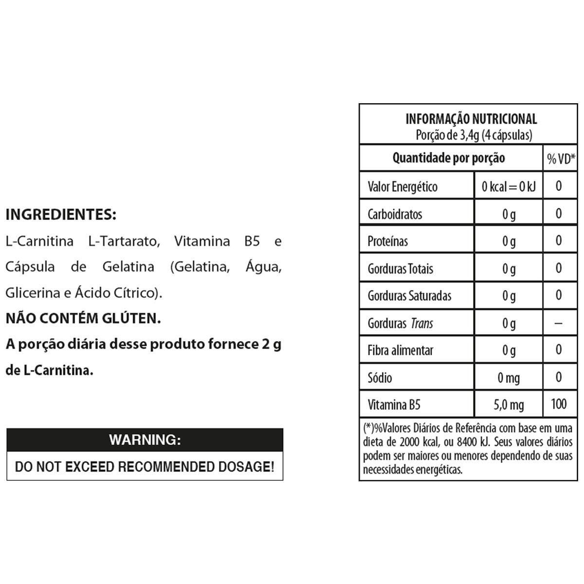 L-CARN (60CAPS) INTEGRALMEDICA