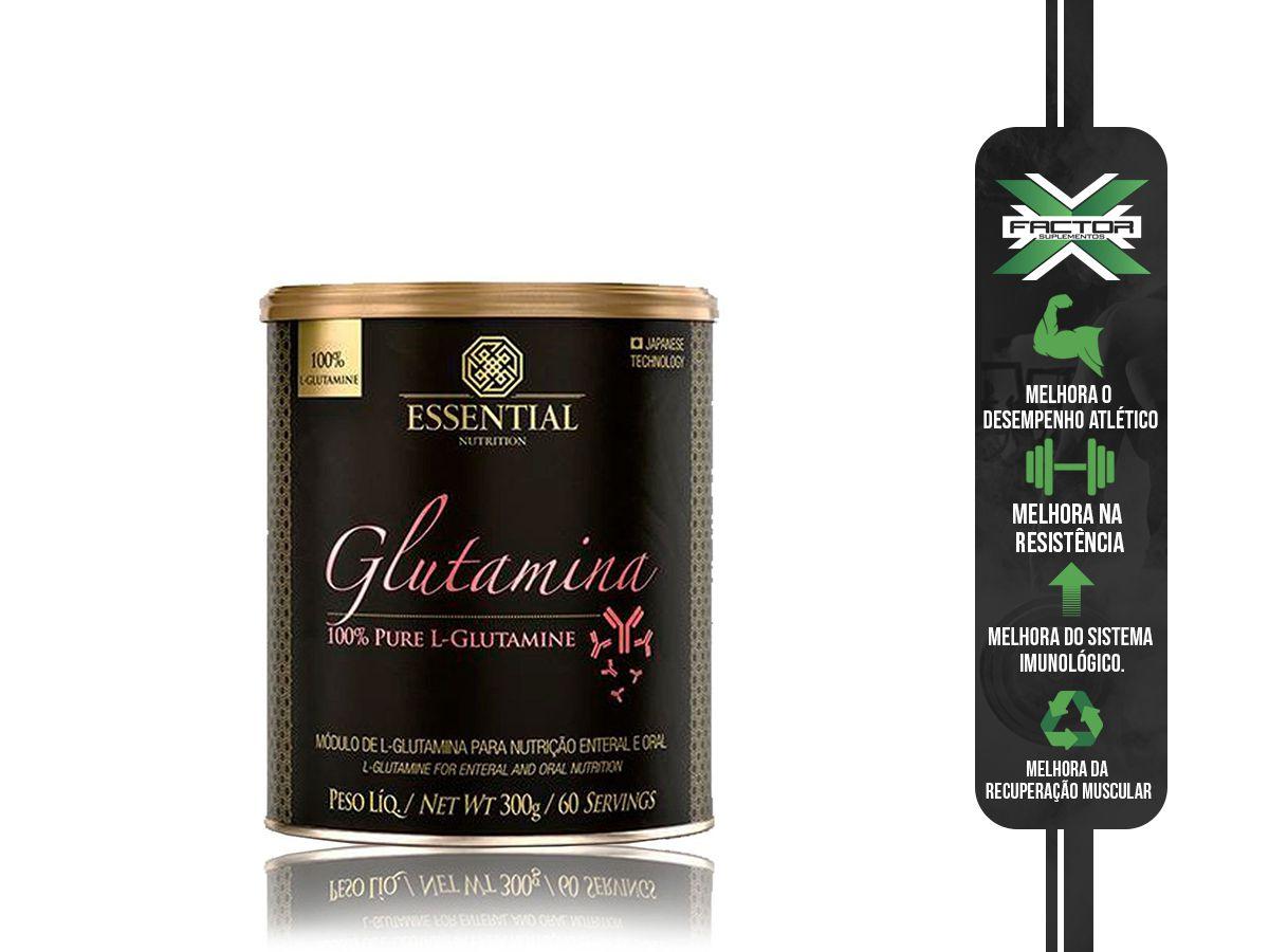 L-GLUTAMINA (300G) ESSENTIAL NUTRITION