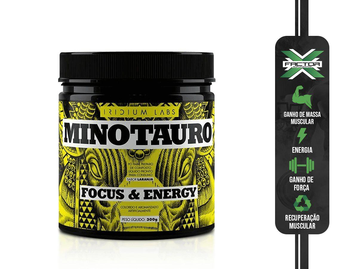 MINOTAURO PRÉ-TREINO (300G) IRIDIUM
