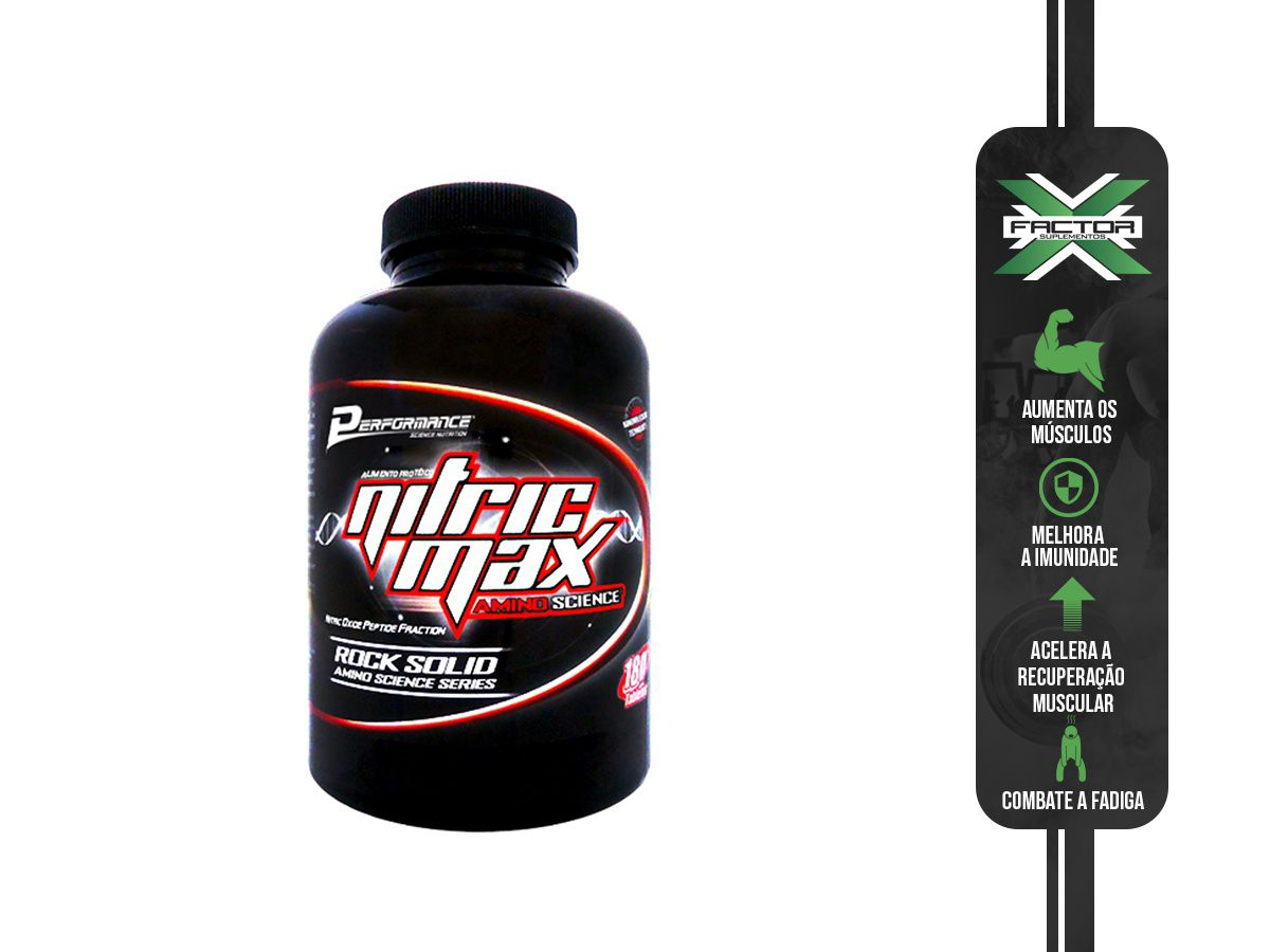 NITRIC MAX AMINO SCIENCE (180 CAPS) - PERFORMANCE NUTRITION