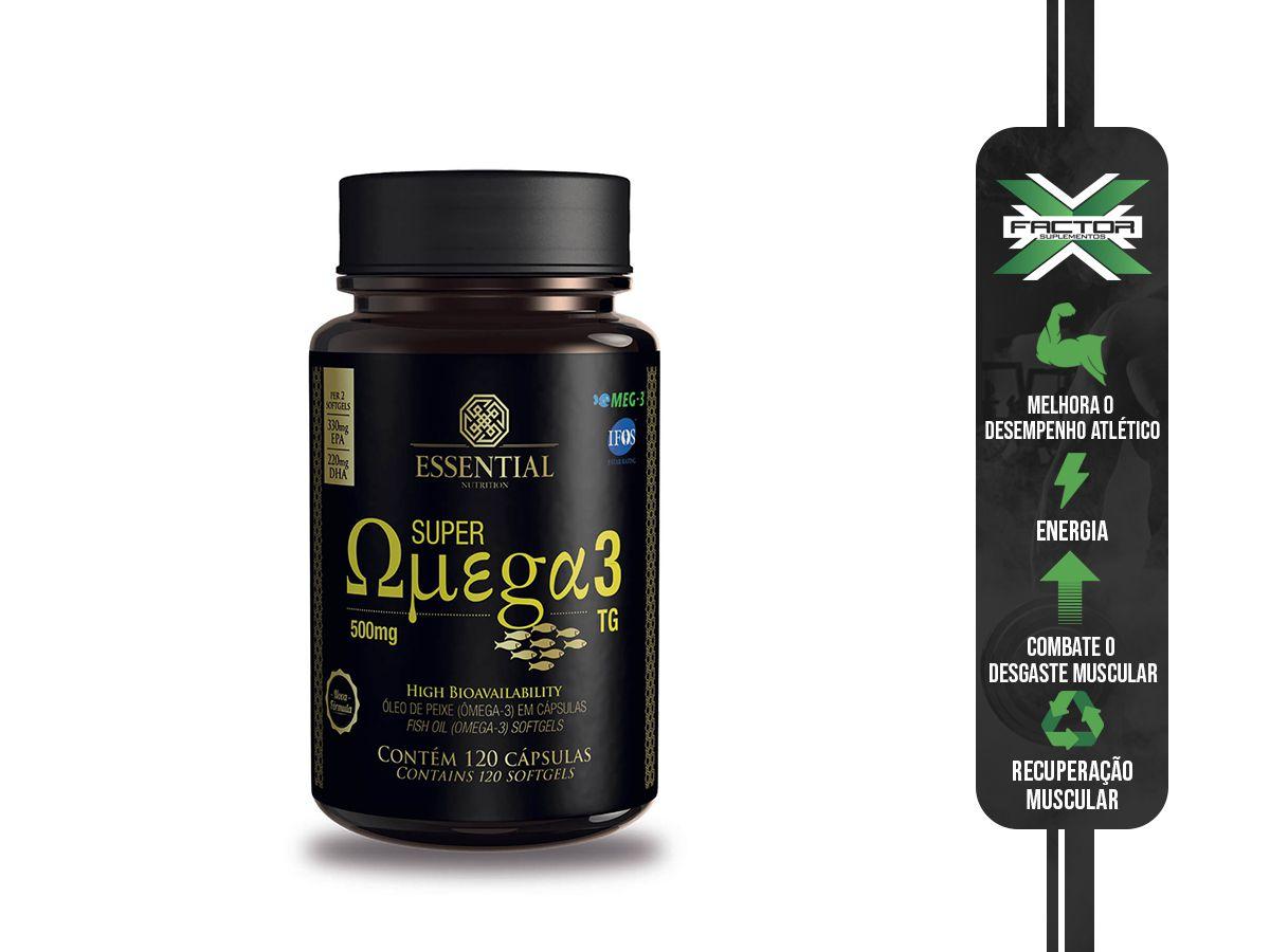 SUPER OMEGA 3 TG (120CAPS) ESSENTIAL NUTRITION