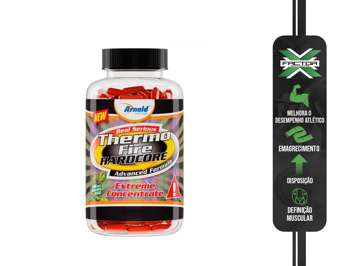 THERMO FIRE HARDCORE (60TABS) ARNOLD NUTRITION