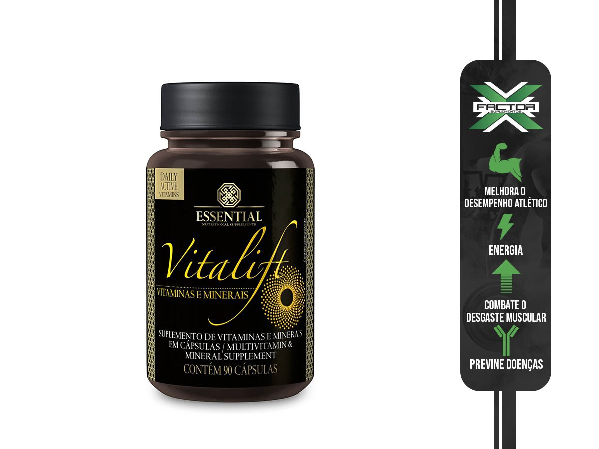 VITALIFT (90CAPS) ESSENTIAL NUTRITION