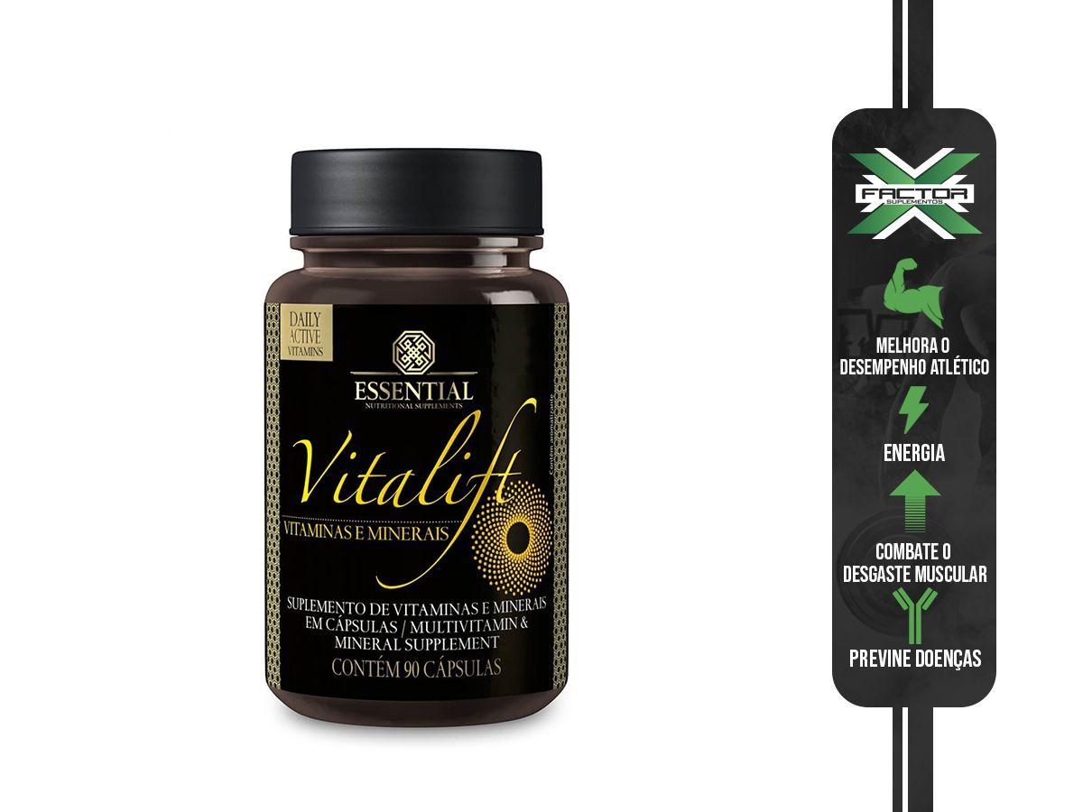 VITALIFT (90CAPS) ESSENTIAL NUTRITION