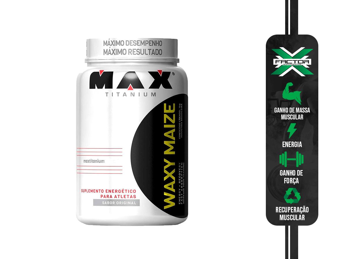 WAXY MAIZE POTE 1KG MAX TITANIUM